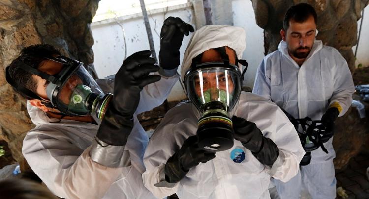 Sýrie obvinila USA a Británii z dodávání jedovatých látek teroristům