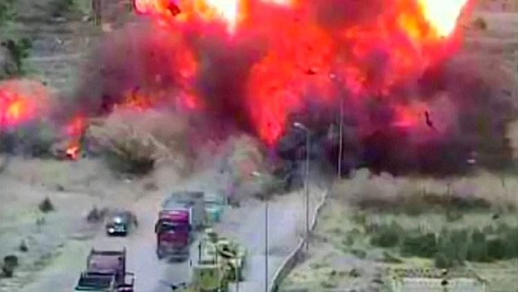 Teroristé chtěli zabíjet. Egyptští vojáci udělali s tankem tah, kterým zachránili 50 lidských životů