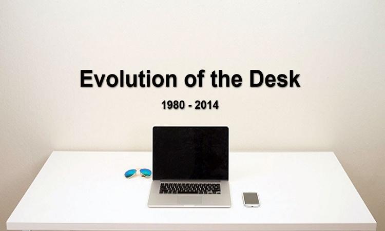 Minulost a současnost: Evoluce pracovního stolu od roku 1982 zachycena v 55 sekundách