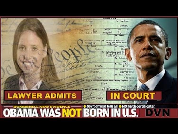 Obama má velký problém. Nové nesporné důkazy, že Obamův rodný list je padělek.