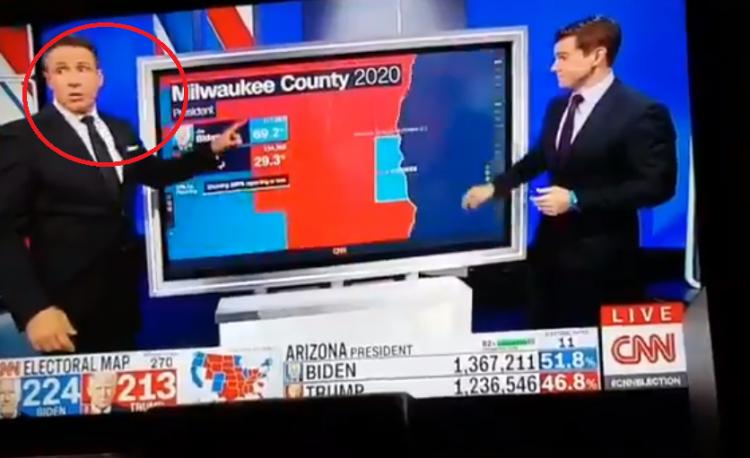 Groteskní americký volební podvod zaskočil dokonce moderátora CNN! Zde je důkaz...