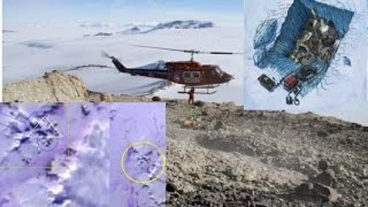 Zmrazená mimozemská civilizace stará 55 tisíc let objevena v Antarktidě