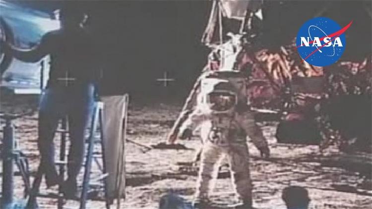 Původní video z Měsíce je navždy ztraceno, NASA kazety prý omylem smazala