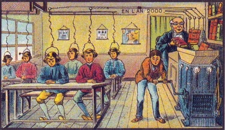 Jak si lidé představovali současnost před 100 lety?