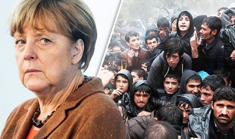 Merkelová: Umožníme africkým imigrantům legálně přijít do Evropy, aby nemuseli absolvovat náročnou a nebezpečnou cestu. Imigranti jsou vítáni otevřenou náručí