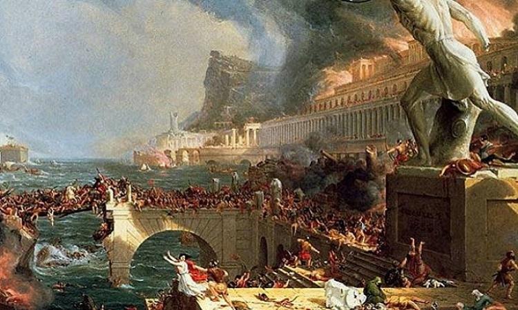 Římská říše podle uznávaného britského historika ztroskotala na podobných problémech, jaké máme nyní my