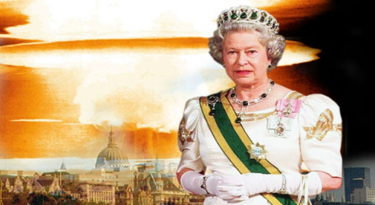 """Královna Alžběta varuje před globální válkou, která pro lidstvo přinese""""konec časů"""""""