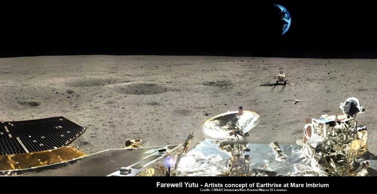 Čínský lunární rover nenašel žádné důkazy o americkém přistání na Měsíci