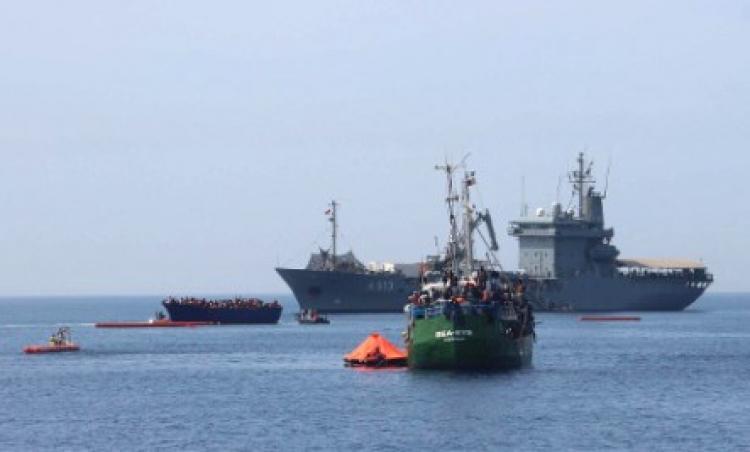 Italové zadrželi loď německé neziskovky