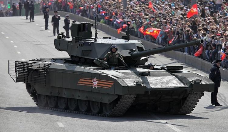 """Sun se zhrozil: Putinovy """"neviditelné tanky"""" jsou mnohem lepší, než západní!"""