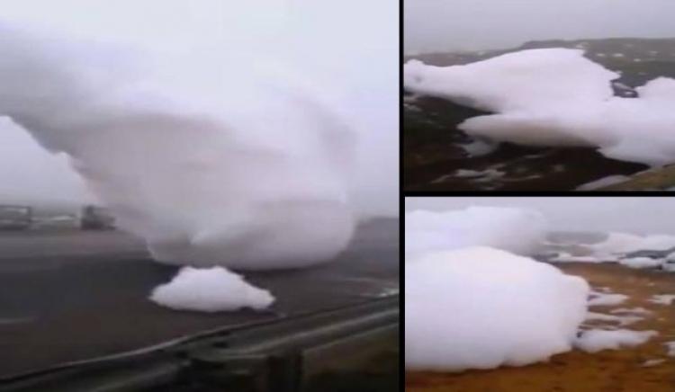 V Maroku spadly ze vzduchu podivné pěnové mraky. Svědci popisují zvláštní zvukové jevy