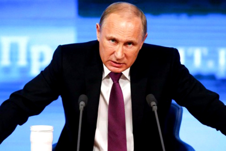 Putinovi došla trpělivost: Poslouchejte, co říkám, vzkázal do světa