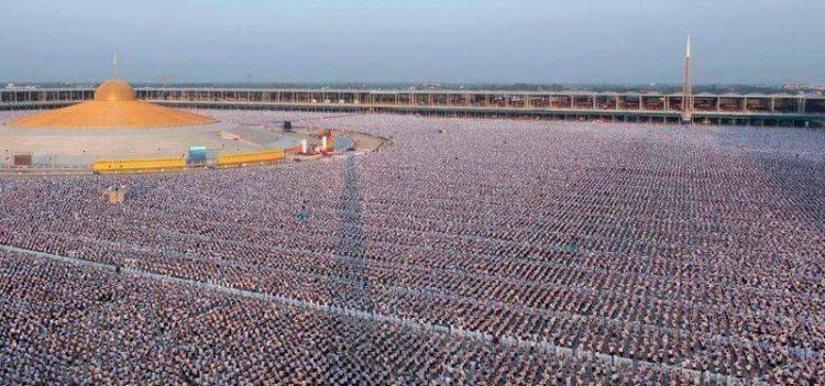 V Thajsku proběhla masivní meditace děti pro světový mír. Pro tento účel přišel 1 milon lidských bytostí