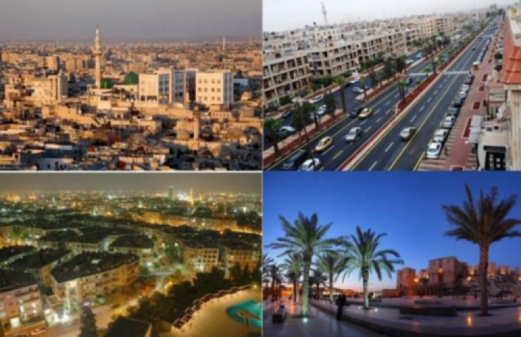 """""""Zakázané"""" snímky největšího syrského města Aleppo z dob """"diktatury"""" a """"demokracie"""""""