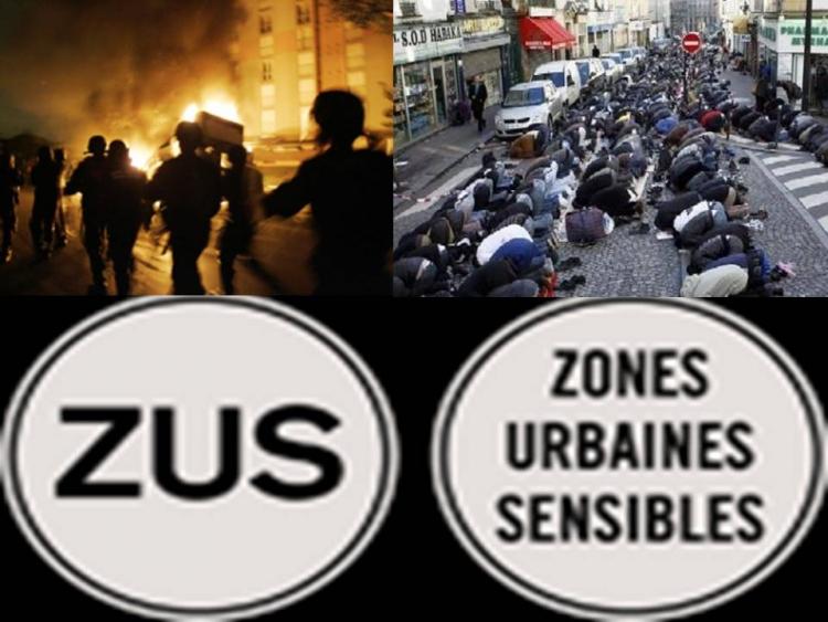 Zamlčovaná a potíraná pravda probublává na povrch. V největších francouzských městech jsou islámské no-go zóny
