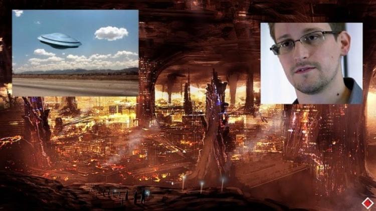 Snowden odkrývá dokumenty o Inteligentních Homo Sapiens žijících pod povrchem Země